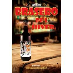 Bière Brasero de l'hiver 75cl de L'Alsacienne