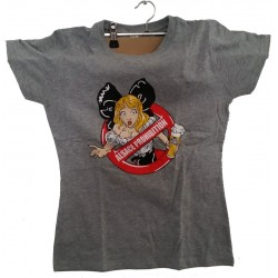 "T-SHIRT LADY  ""ALSACE PROHIBITION"""