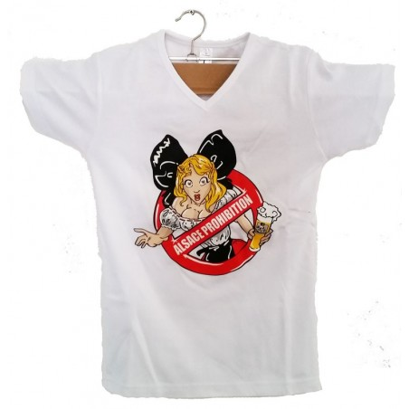 """T-SHIRT LADY  """"I LOVE ALSACE"""""""