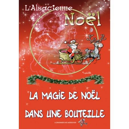 AFFICHE ALSACIENNE DE NOEL
