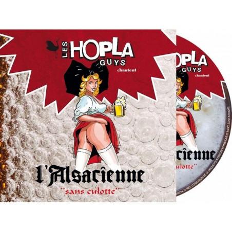 CD L'ALSACIENNE SANS CULOTTE PAR LES HOPLA GUYS