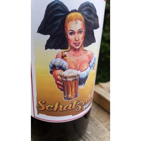 Bière Blonde 7° Alc. 75cl avec bouchon mécanique