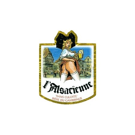 Alsacienne Sans Culotte Blonde 33cL