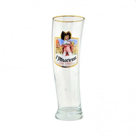 Verres à bière Alsacienne Sidney
