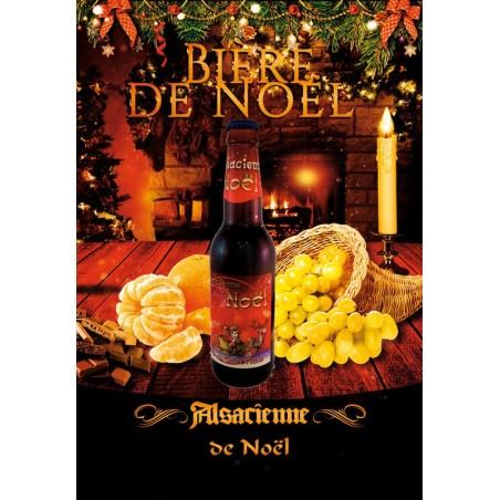 Bière Alsacienne de Noël 75cl