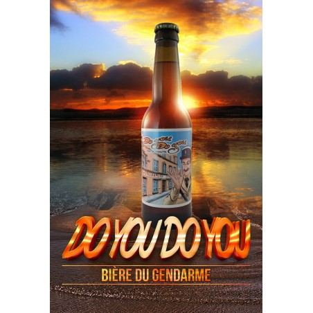 "Bière du gendarme""DO YOU DO YOU"" 33cl"