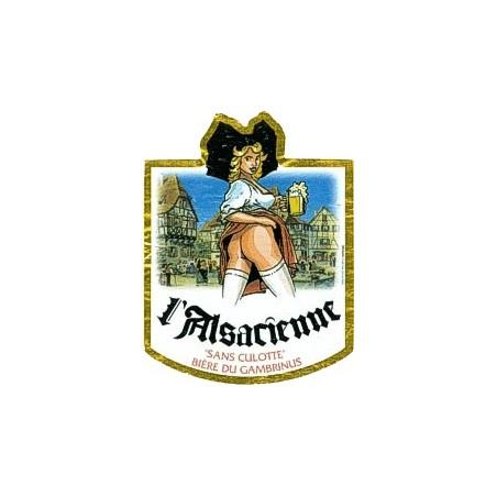 Alsacienne Sans Culotte Blonde triple 75cL