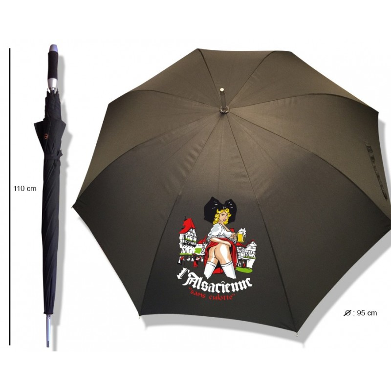 """Parapluie Alsacienne """"Des bières très culottées"""""""
